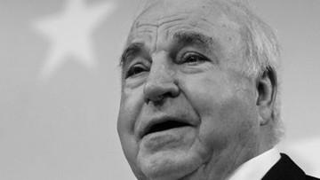 Politycy składają kondolencje po śmierci Helmuta Kohla
