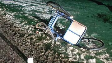 Potrącił inwalidę na wózku i uciekł