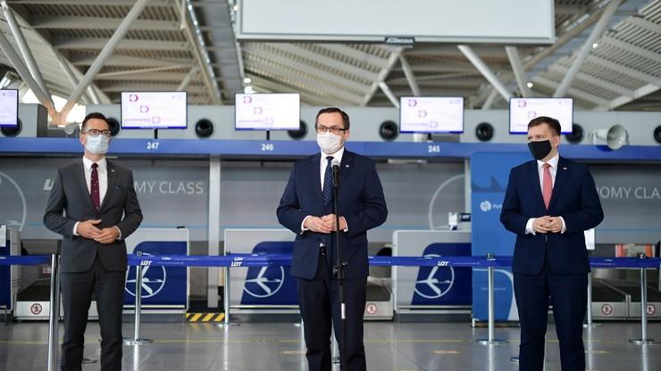 Dotacje dla polskich portów lotniczych. Łącznie 142 mln zł