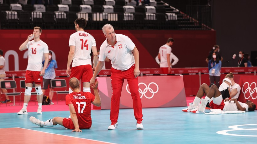 Tokio 2020: Polska - Francja. Wojciech Drzyzga ocenił występ Biało-Czerwonych