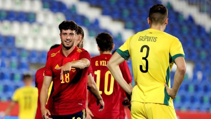 Euro 2020: Hiszpania rozbiła Litwę. Grali zawodnicy kadry U-21