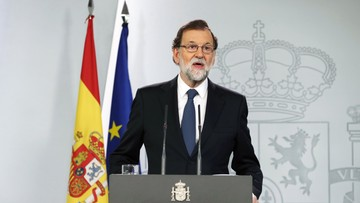 """Ponad 840 osób poszkodowanych w Katalonii. Premier Hiszpanii mówi, że """"referendum niepodległościowego nie było"""""""
