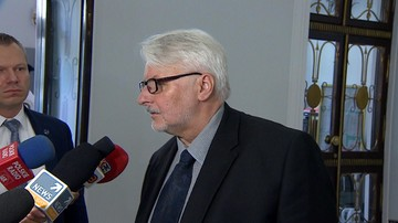 Waszczykowski strofuje Tuska: nie jest od ingerowania w sprawy Polski