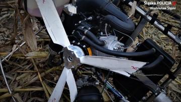 Paralotniarz zahaczył skrzydłem o linię energetyczną. Był pijany