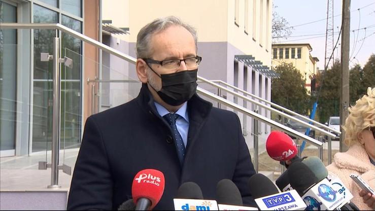 Niedzielski: zawiesiłem dyrektora szpitala miejskiego w Radomiu