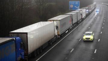 Polscy kierowcy utknęli na granicy brytyjsko-francuskiej. Reagują prezydent i premier