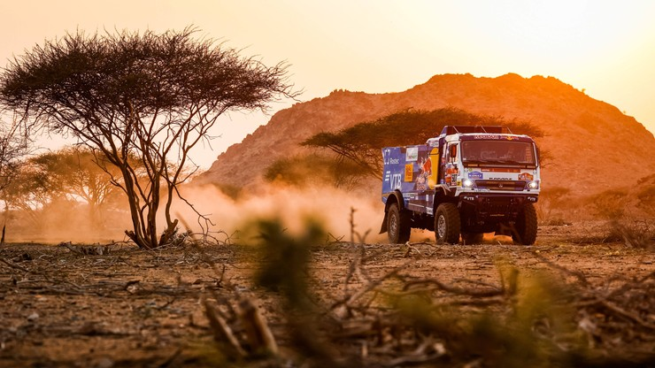 Kamaz już na prowadzeniu w Rajdzie Dakar