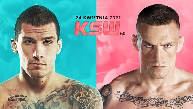Aleksandar Ilić i Tomasz Jakubiec zmierzą się na KSW 60