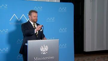 Szumowski rezygnuje ze stanowiska. Podał powody