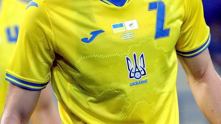"""UEFA nakazuje usunąć napis """"Chwała naszym bohaterom"""" z koszulek ukraińskiej reprezentacji"""