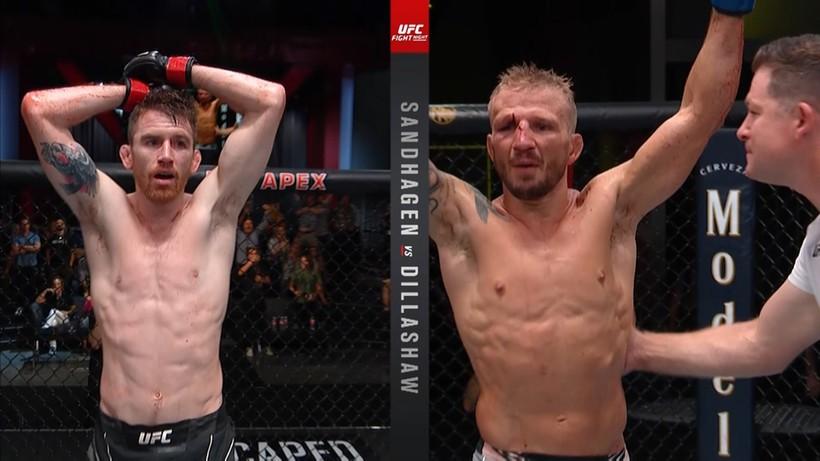 UFC Vegas 32: Wyniki gali. T.J. Dillashaw pokonał Cory'ego Sandhagena