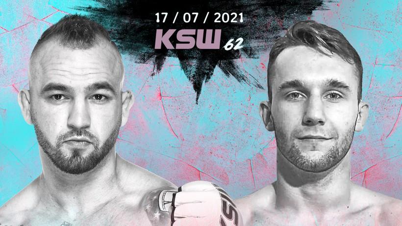 KSW 62: Zmiana w karcie walk