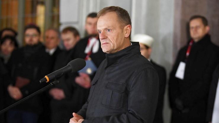 Areszt dla 48-latka, który groził zabiciem Donalda Tuska