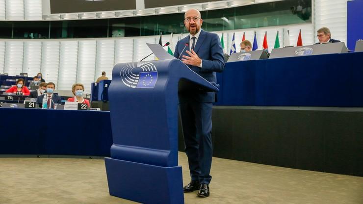 Charles Michel do Białorusinów: UE was nie zostawi