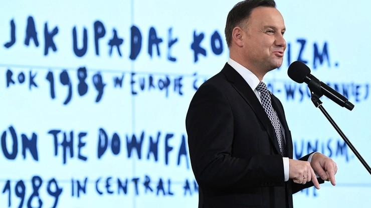 Prezydent: w wyborach 4 czerwca Polacy zmienili postanowienia Okrągłego Stołu i zniweczyli je