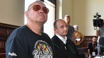 """Owsiak stanął przed sądem za używanie wulgaryzmów. """"Brak szkodliwości społecznej czynu"""""""