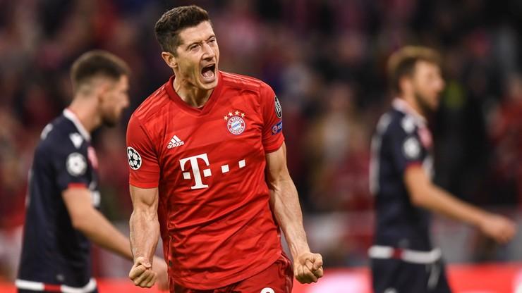 Liga Mistrzów: Wygrana Bayernu Monachium. Gol Lewandowskiego