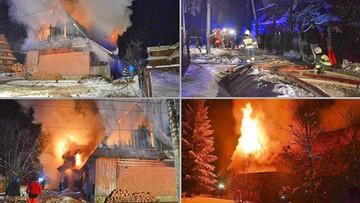 Noworoczny pożar w Murzasichlu. Prawdopodobna przyczyna - sztuczne ognie
