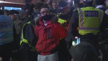 Protest przeciw lockdownowi w Anglii. 190 osób aresztowanych