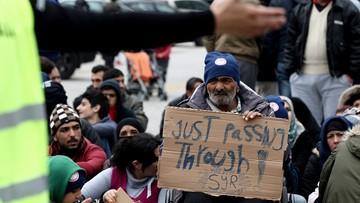 """""""Otwórzcie granice"""". Protest migrantów w Grecji"""