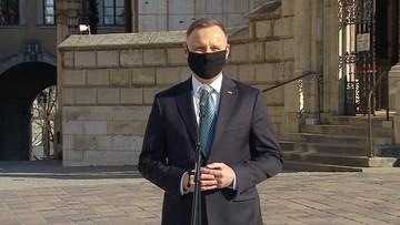 """Prezydent na Wawelu. """"Jestem tu, żeby oddać hołd"""""""