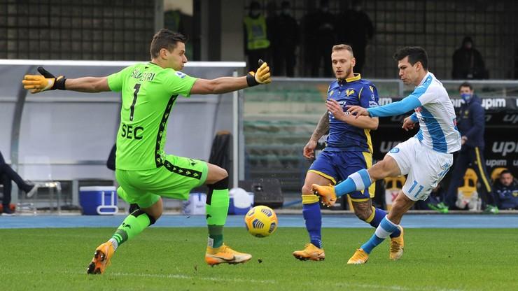 Serie A: Gol Hirvinga Lozano w dziewiątej sekundzie. Napoli słabsze na wyjeździe