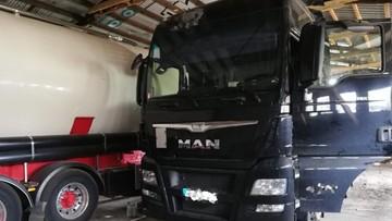 Skradzione ciężarówki warte 2 mln złotych. Zatrzymano dwóch podejrzanych