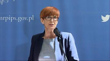 Rafalska: bezustannie apelujemy do rodziców o zakończenie protestu w Sejmie