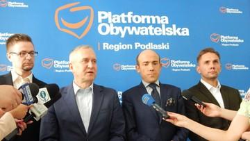 Trzej podlascy działacze Nowoczesnej przechodzą do PO