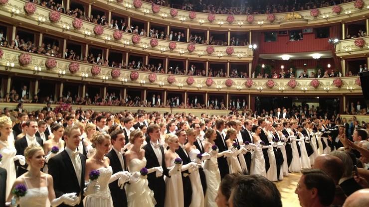 Słynny bal w Operze Wiedeńskiej odwołany z powodu koronawirusa