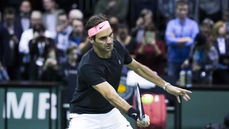 ATP w Rotterdamie: Federer o krok od fotelu lidera