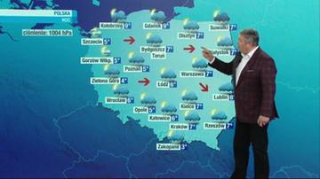 Prognoza pogody - piątek, 15 października - popołudnie