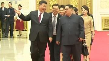 Pierwsza zagraniczna wizyta przywódcy Korei Północnej. Kim Dzong Un odwiedził Chiny