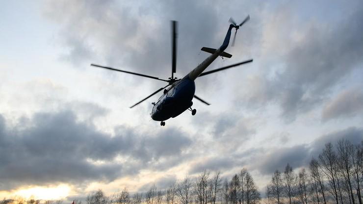 Katastrofa śmigłowca w Rosji. Zginęło 19 osób