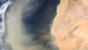 Burza piaskowa z Sahary dotarła nad Polskę. Zostanie do soboty