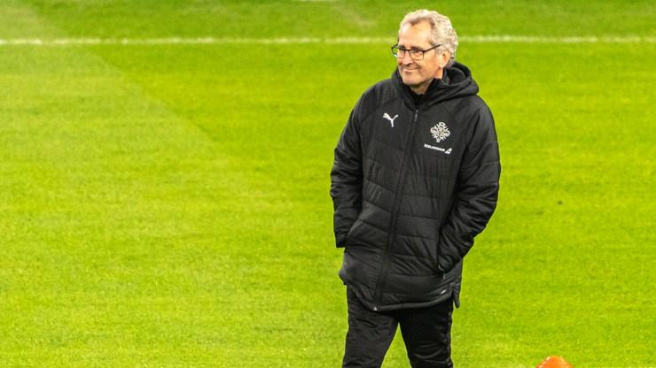 Trener reprezentacji Islandii zrezygnował ze stanowiska