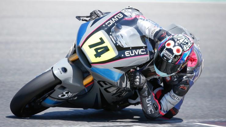 Moto2: Piotr Biesiekirski celuje w pierwszą piątkę w Jerez