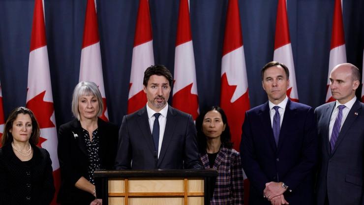 Premier Kanady poddał się kwarantannie. Jego żona czeka na wynik badania