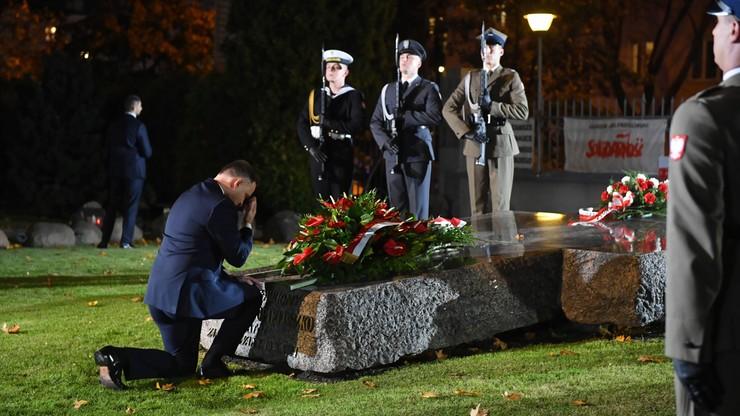 Prezydent złożył wieniec na grobie ks. Popiełuszki