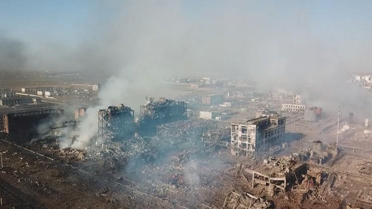 Wzrosła liczba ofiar eksplozji w fabryce w Chinach. Nie żyją co najmniej 64 osoby