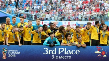 Belgia brązowym medalistą piłkarskich mistrzostw świata w Rosji