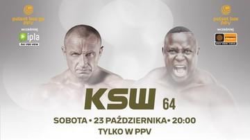 KSW 64: Transmisja PPV. TV i stream online