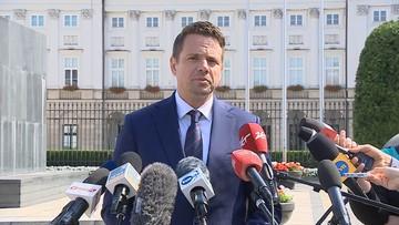Trzaskowski zdecydował, czy przyjdzie na zaprzysiężenie prezydenta