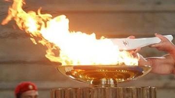 Tokio 2020: Szfateta z ogniem olimpijskim przerwana