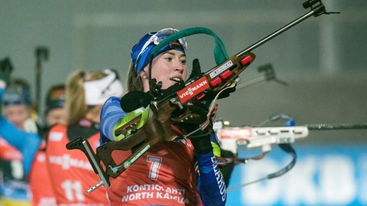 PŚ w biathlonie: Dzinara Alimbiekawa najlepsza w sprincie. Polki daleko