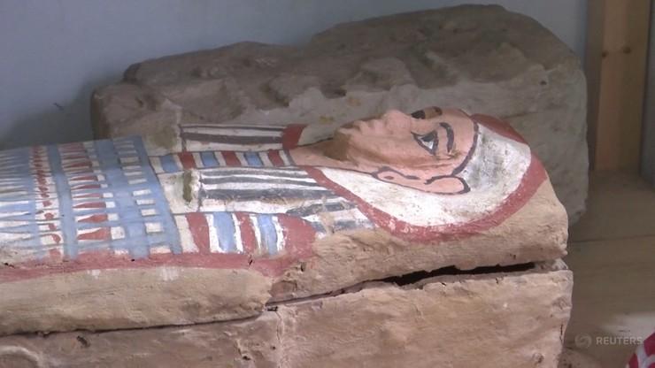Odkrycie, które zmieni historię. Trumny sprzed 3 tysięcy lat w egipskiej świątyni