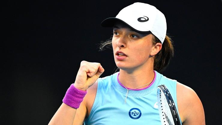 WTA w Madrycie: Popis Igi Świątek! Oddała Alison Riske dwa gemy