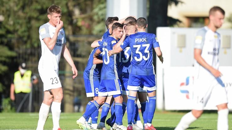Fortuna 1 Liga: Pierwsze zwycięstwo Miedzi pod wodzą nowego trenera