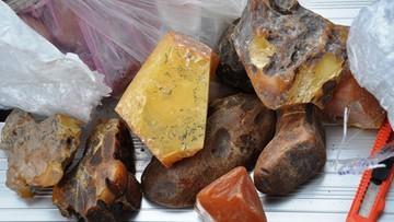 1,5 tony bursztynu w ciężarówce z Ukrainy. Udaremniono rekordowy przemyt