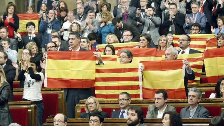 Zawieszono procedurę niepodległościową Katalonii